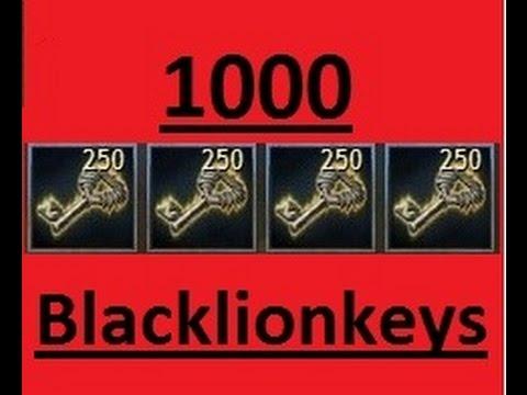 Guild Wars 2: 1000 Black Lion Keys