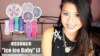 "DM NEWS & REVIEW: Essence ""ice ice Baby"" LIMITED EDITION + OUTTAKES :D"