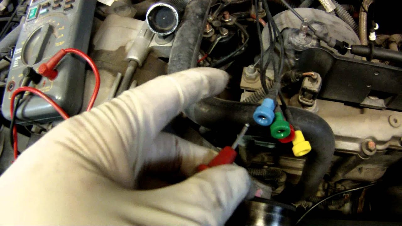hight resolution of test injector resistance on a 7 3 liter ford powerstroke