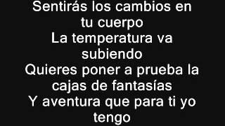 Caja De Fantasias  Anonimus Ft Ñengo Flow LETRA (REGGAETON)