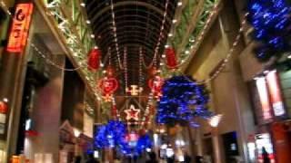 仙台 クリスマスイルミネーションの東一番丁