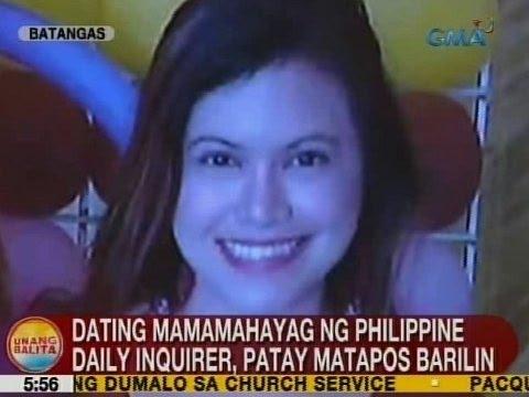 UB: Dating mamamahayag ng Philippine Daily Inquirer, patay matapos barilin sa Batangas