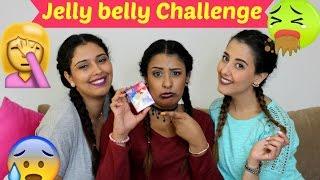 Jelly Belly |  تحدي الحلوة المعفنة ، ردة فعل زينب و أسماء