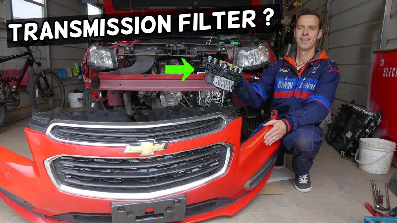 Where Is The Transmission Filter On Chevrolet Cruze And Chevy