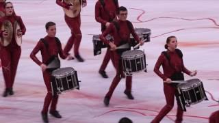 azle indoor drumline performance 2 4 17