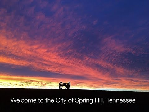Welcome to Spring Hill, Tennessee