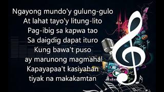 Kay Ganda Ng Ating Musika - Isang Mundo Isang Awit ( Medley ) - Minus One