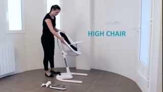 Стульчик для кормления Mima Moon - инструкция по сборке(Подробнее о стульчике можно узнать тут: ..., 2014-02-13T08:14:24.000Z)