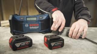 Bosch GML SoundBoxx Professional AM/FM 14.4v 18v L-BOXX Radio