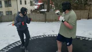 Sparring #1 - Tyler vs Doug