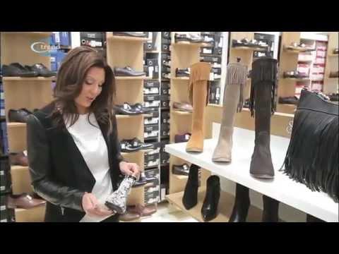 88cb62fbfd Őszi és téli cipő divat - YouTube