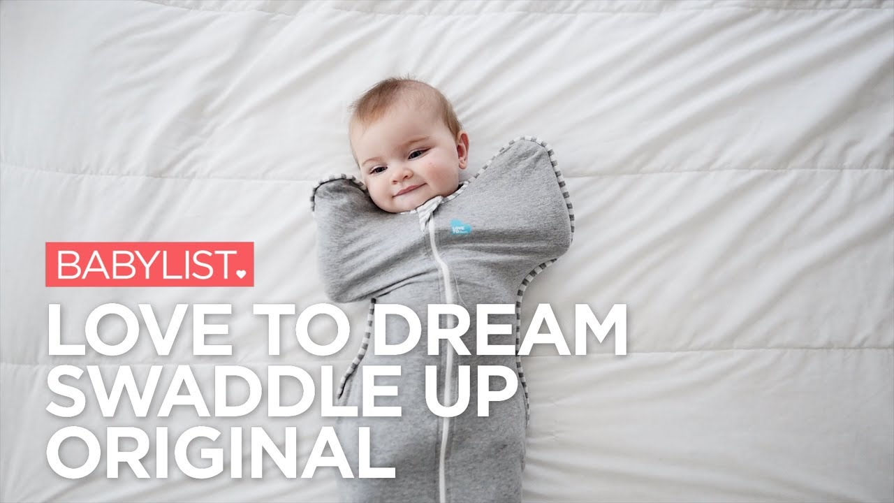 56545a229 Love to Dream Swaddle UP Original Review - YouTube