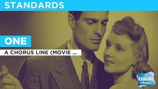 One : A Chorus Line (Movie Version) | Karaoke with Lyrics