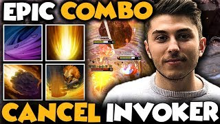 CanceL^^ Invoker EPIC COMBO With His Teammates No Chance For Radiant Team - Dota 2 Invoker