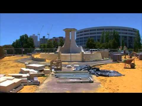 Monument Highlights on Lake Vasto Perth Western Australia
