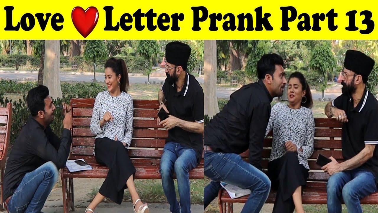 Love Letter Prank 13 | Allama Pranks | Totla Reporter | Cute Girl | funny | comedy