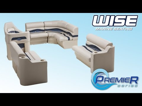 Wise Pontoon Furniture Installation Video