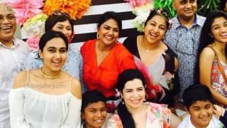 Actress Nirosha Family Photos   Husband Ramki & Unseen Family Images