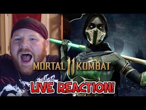 MK 11 Jade Reveal - Krimson KB Reacts