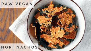 How To Make Raw Vegan Nori Nachos