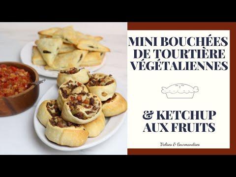 mini-tourtiÈres-vegan---sans-millet---et-ketchup-aux-fruits---recette-de-noël-facile