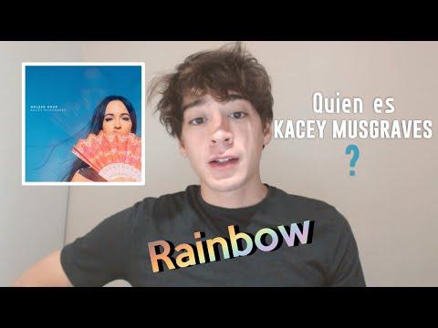 Quién es Kacey Musgraves? Rainbow   Reaction