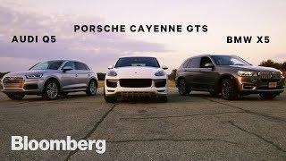 Luxury SUV Test: Audi Q5, Porsche Cayenne, BMW X5