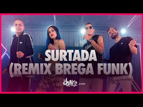 Surtada (Remix Brega funk) - Dadá Boladão, Tati Zaqui ft. OIK | FitDance TV (Coreografia Oficial) thumbnail