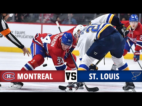Montreal Canadiens vs St. Louis Blues | Season Game 57 | Highlights (11/2/17)