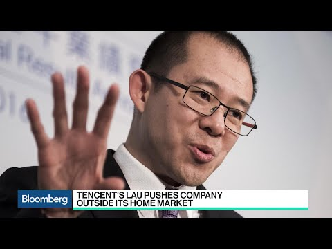 Tencent's Lau Pushes Company Outside of Its Home Market