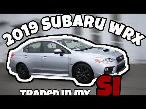 TRADED IN MY CIVIC FOR 2019 SUBARU WRX/COPS PULLED US OVER (Funny)