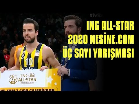 ING All-Star 2020 | Nesine.Com Üç Sayı Yarışması