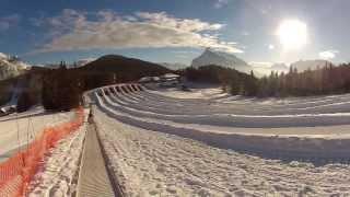 Snow Tubing - Mt. Norquay - Banff, Alberta