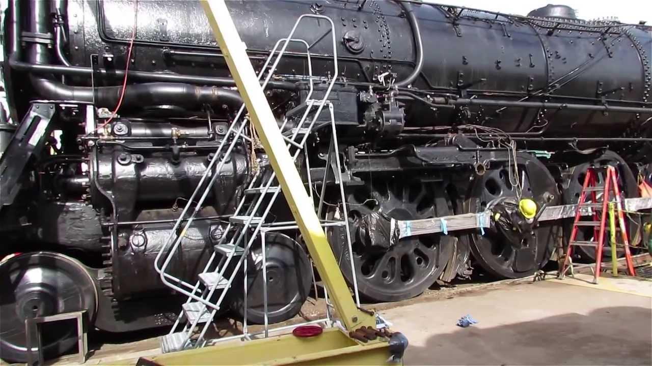 Santa Fe 3424 Steam Locomotive - YouTube