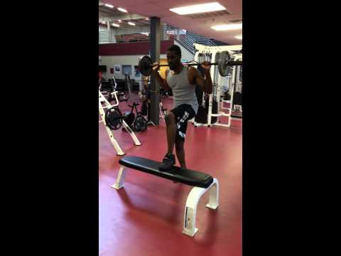 Barbell Step Ups- Jackson, Ms Personal Fitness Trainer