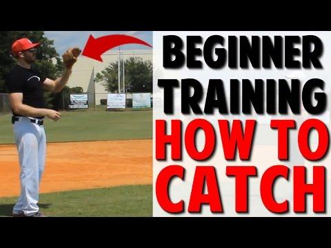 Coaching Beginner Baseball | How to Catch (Pro Speed Baseball)