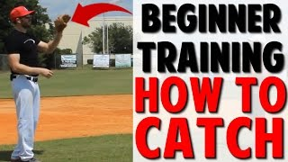Coaching Beginner Baseball | How to Catch (Pro Speed Baseball)