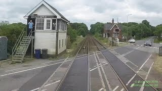 Lincoln to Cleethorpes – Hastings DEMU cab ride — 1 July 2017 – audio from back cab