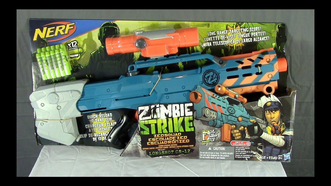 Buying the Nerf N-Strike Longshot CS-6 (subtitled) - YouTube
