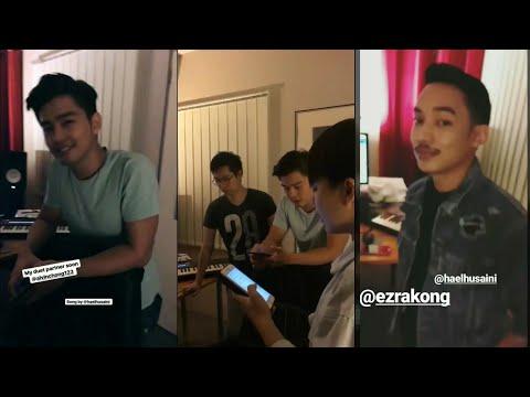 Janna Nick bakal berduet dengan Alvin Chong, lagu ciptaan Hael Husaini