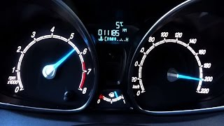 Ford Fiesta 1.0 Ecoboost 125PS Acceleration 0-100 0-200 Top Speed Test