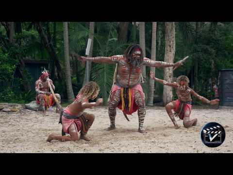 Aboriginal dance show - Australia