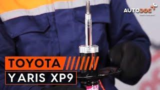 Jak vyměnit Hlavni brzdovy valec на TOYOTA YARIS (SCP9_, NSP9_, KSP9_, NCP9_, ZSP9_) - online zdarma video