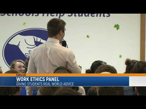 Work Panel Gives Students Chance to Learn From Local Businesses