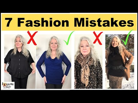 [VIDEO] - 7 Fashion Mistakes | Mature Women Style Tips over 50 2