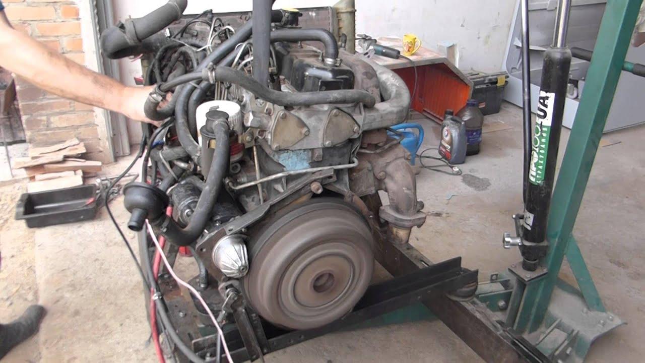 Первый раз заводим Форд Сиерра после ремонта! - YouTube