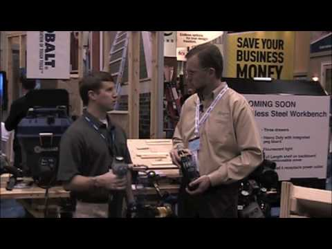 International Builders Show 2010 - Kobalt Tools 2
