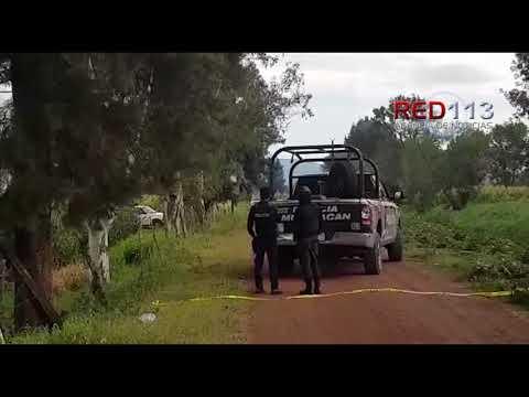 VIDEO Ejecutan a tío y sobrino en parcela cerca de la brecha El Olimpo