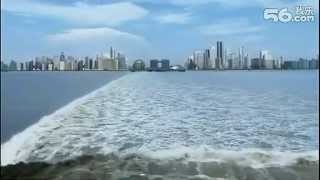 Chinese City:Modern Hangzhou , airscape 鸟瞰杭州CBD