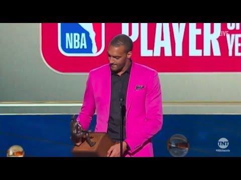 Rudy Gobert   Kia Defensive Player of the Year Winner   2018 NBA Awards